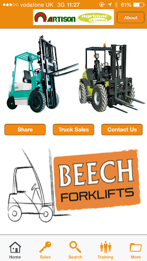 Beech Forklifts Ltd
