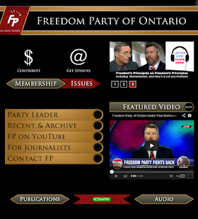 Freedom Party of Ontario - screenshot thumbnail