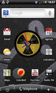 Duke Clock Widget