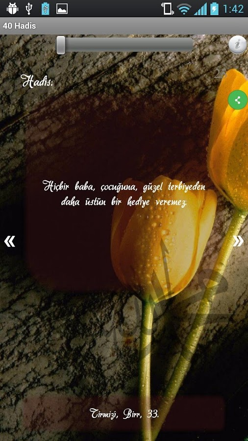 40 Hadis - Hadis-i Şerifler HD- screenshot