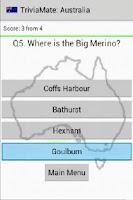 Screenshot of TriviaMate: Australian Trivia