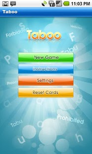 Taboo - screenshot thumbnail