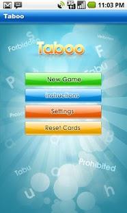 Taboo - screenshot thumbnail