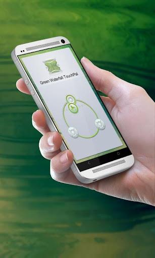 グリーン滝 TouchPal Theme