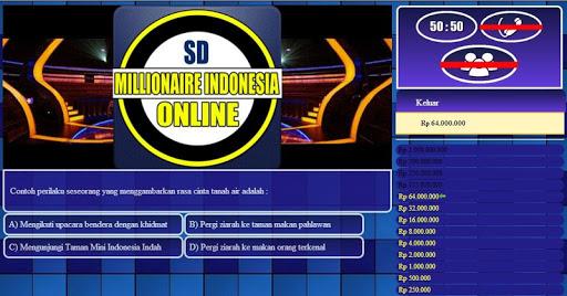 【免費教育App】Millionaire Indonesia SD-APP點子