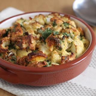 Roasted Garlic And Cauliflower Stuffing