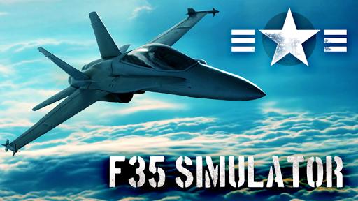 F35 Jet Fighter 3D Simulator