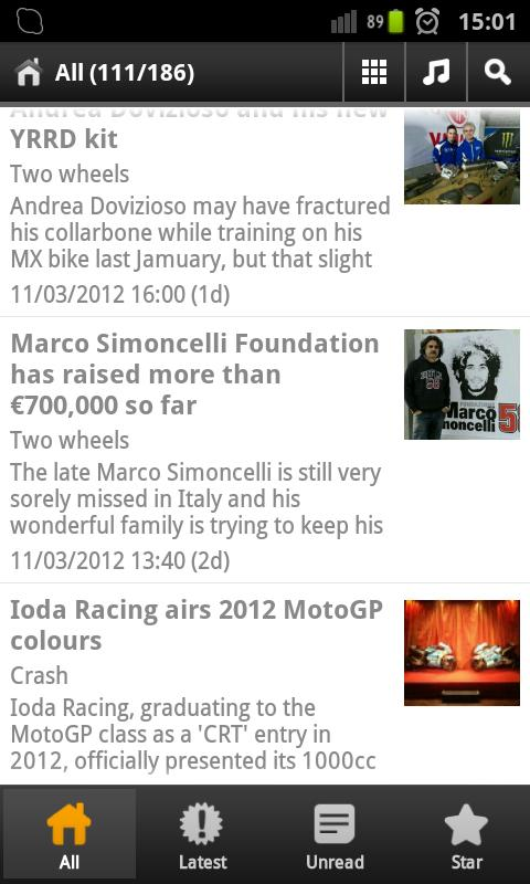 Moto World News - screenshot