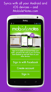 MobisleNotes - Notepad- screenshot thumbnail