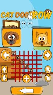 Cat Dog in Row- screenshot thumbnail