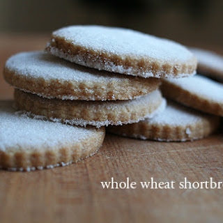 Whole Wheat Shortbread Cookies.