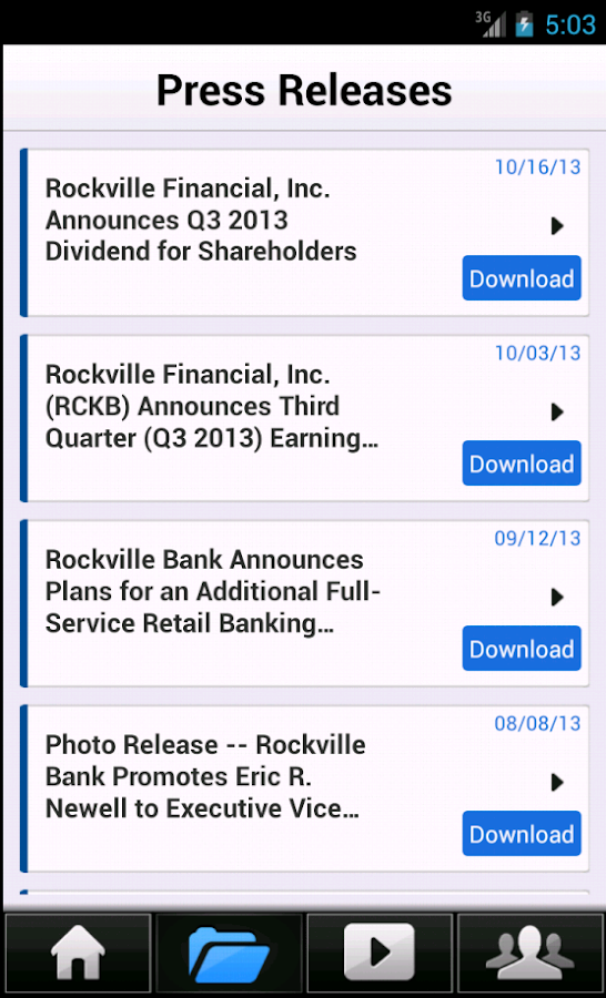 Rockville IR (RCKB) - screenshot