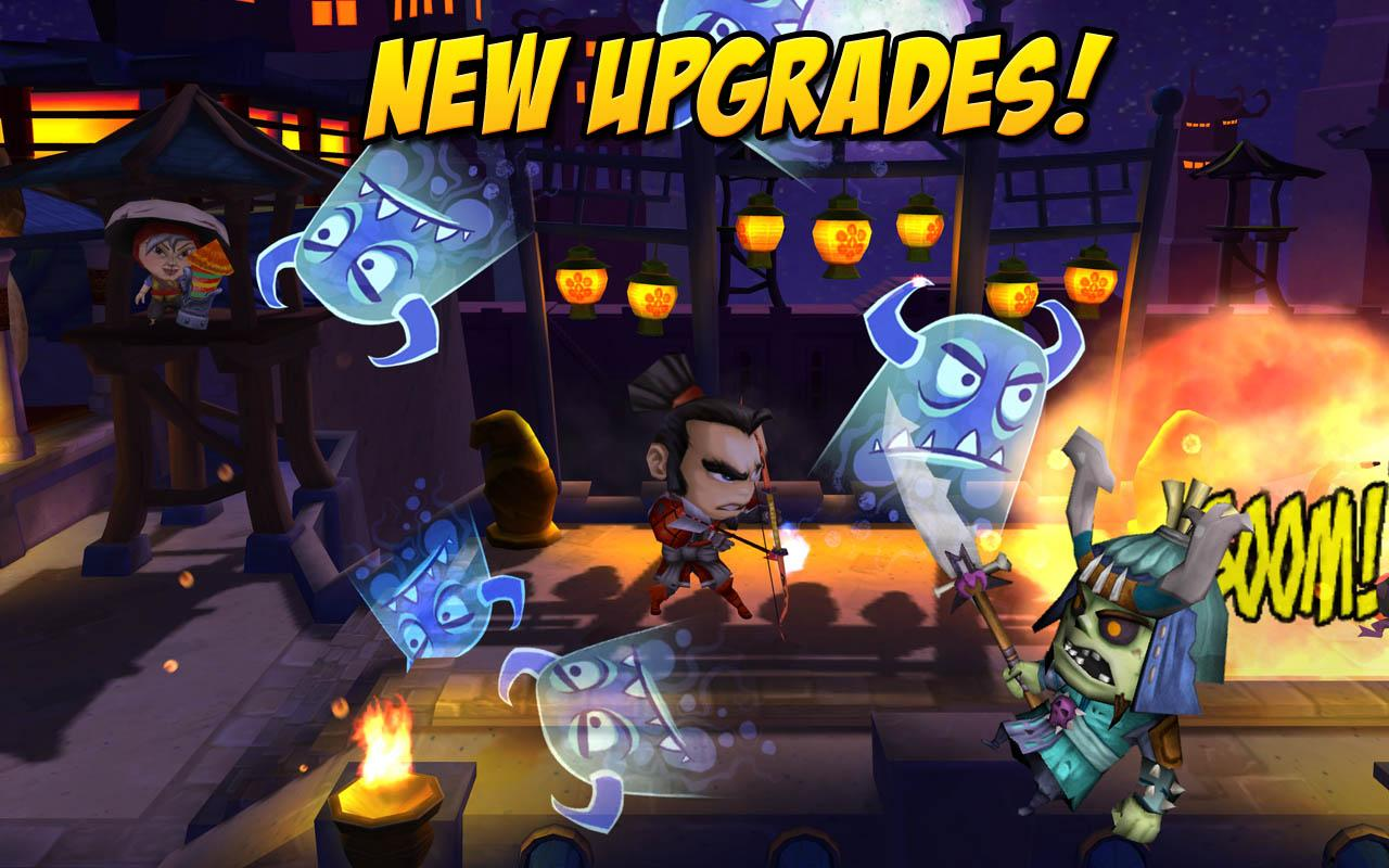 SAMURAI vs ZOMBIES DEFENSE 2- screenshot