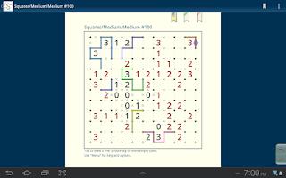 Screenshot of Slitherlink