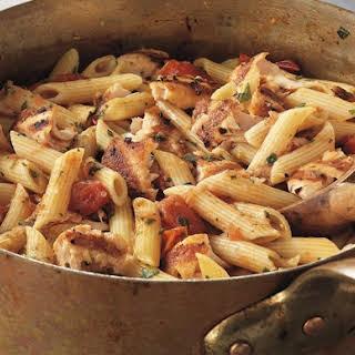 Grilled Salmon Pasta Fresca Recipe by Jamie Purviance.