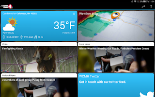 Screenshot of NBC4 Wx