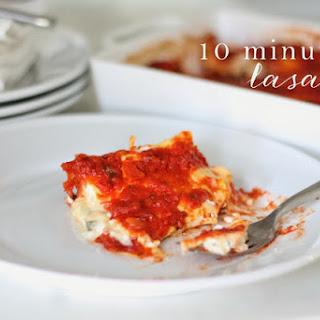 Mom's 10 Minute Lasagna