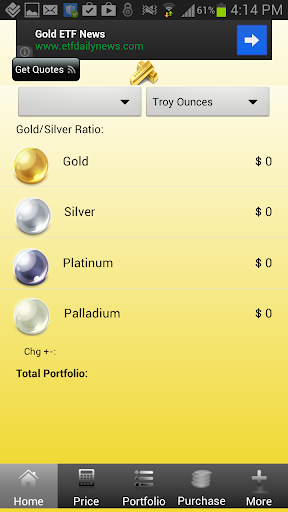 Gold Silver Rate Live App