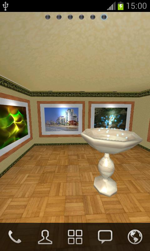 Virtual Photo Gallery 3D LWP - screenshot