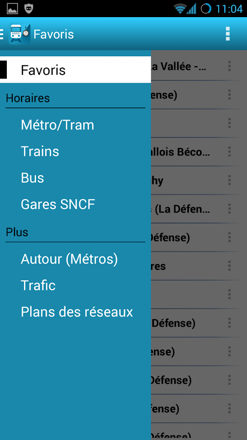 Horaires Me ! (Paris) - screenshot