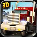 Heavy duty trucks simulator 3D icon