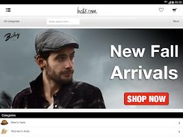 Screenshot of hats.com