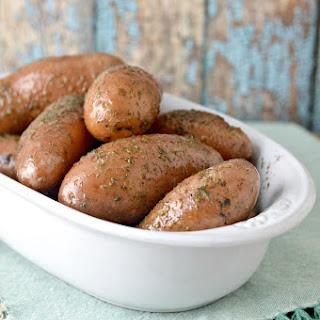 Warm Buttery Dill Potatoes