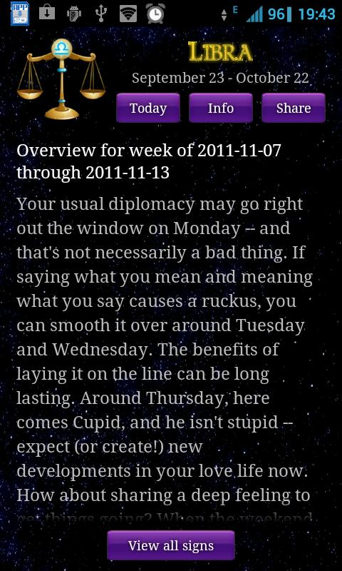 Horoscope Today- screenshot