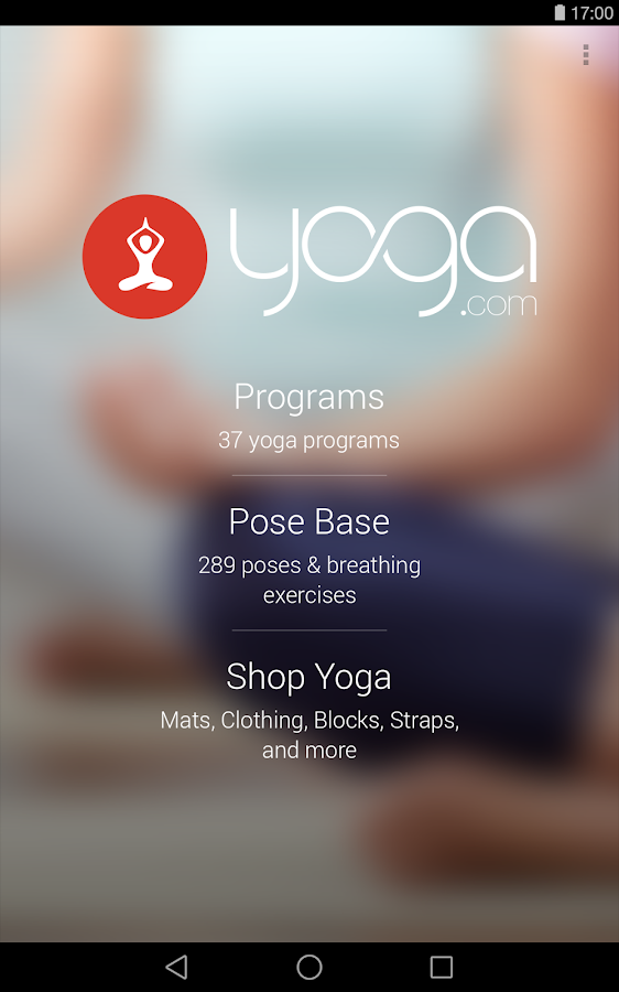 Yoga.com - screenshot