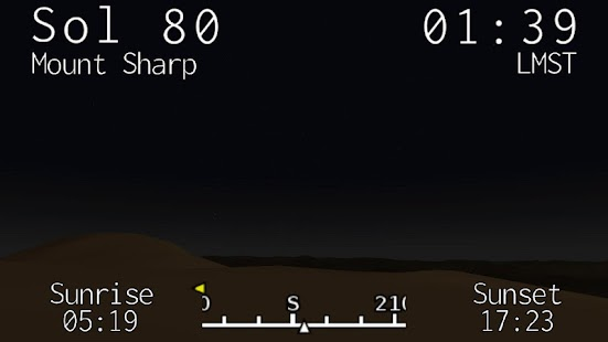 Curiosity Clock - screenshot thumbnail