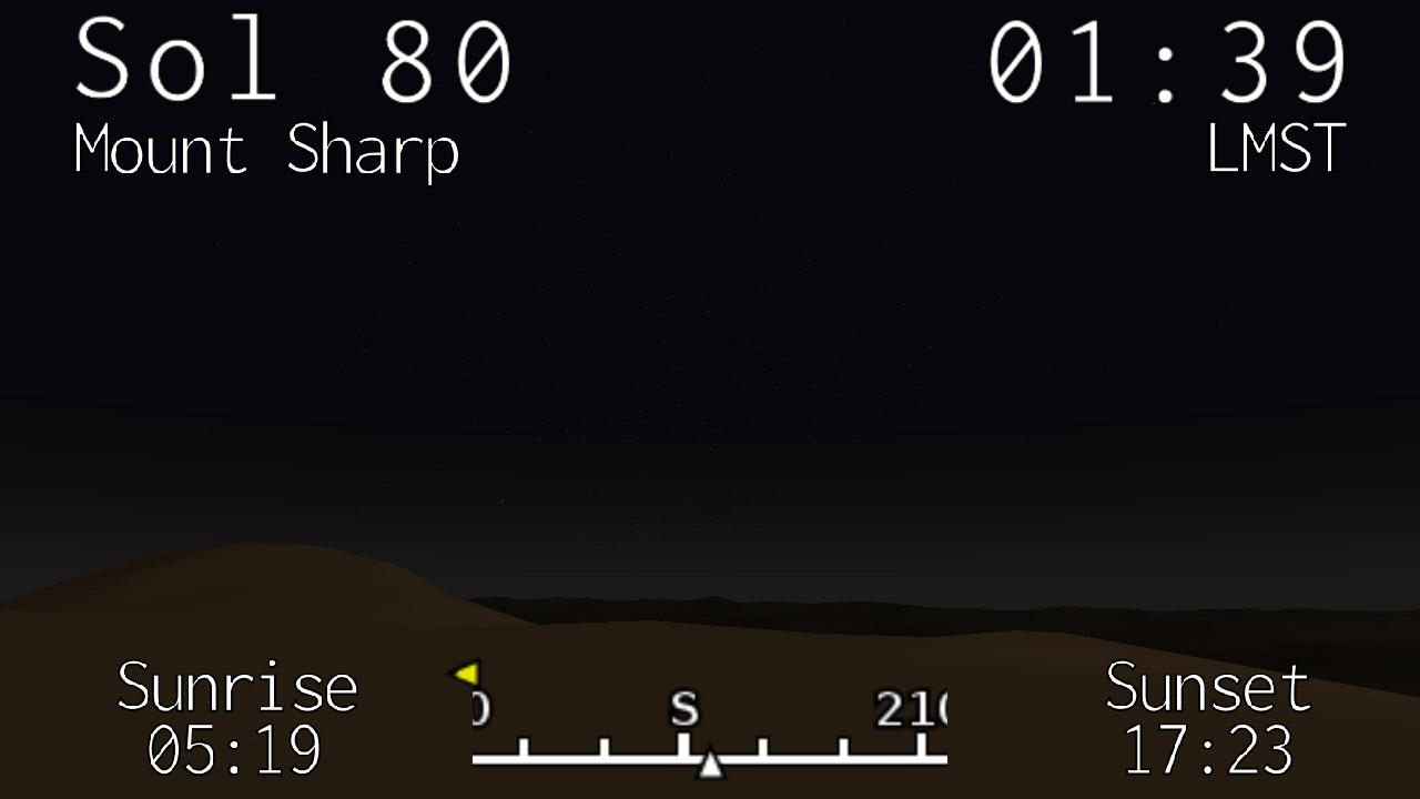 Curiosity Clock- screenshot