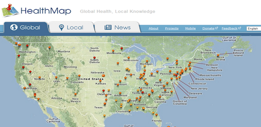 HealthMap: Outbreaks Near Me   Apps on Google Play