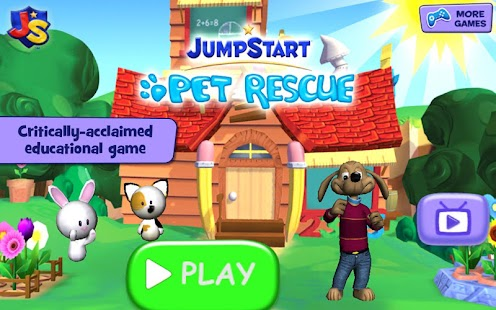 JumpStart Pet Rescue Screenshot 1