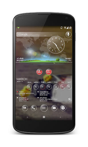 AT Rings for Zooper Widget