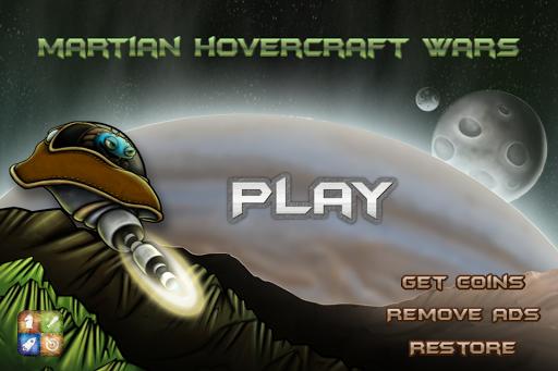 Martian Hovercraft - Pro Jet