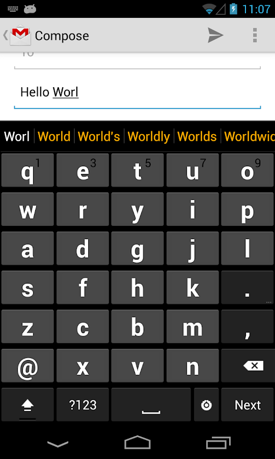 Big Keyboard- screenshot