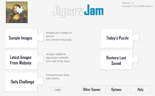 Jigsaw Jam- screenshot thumbnail