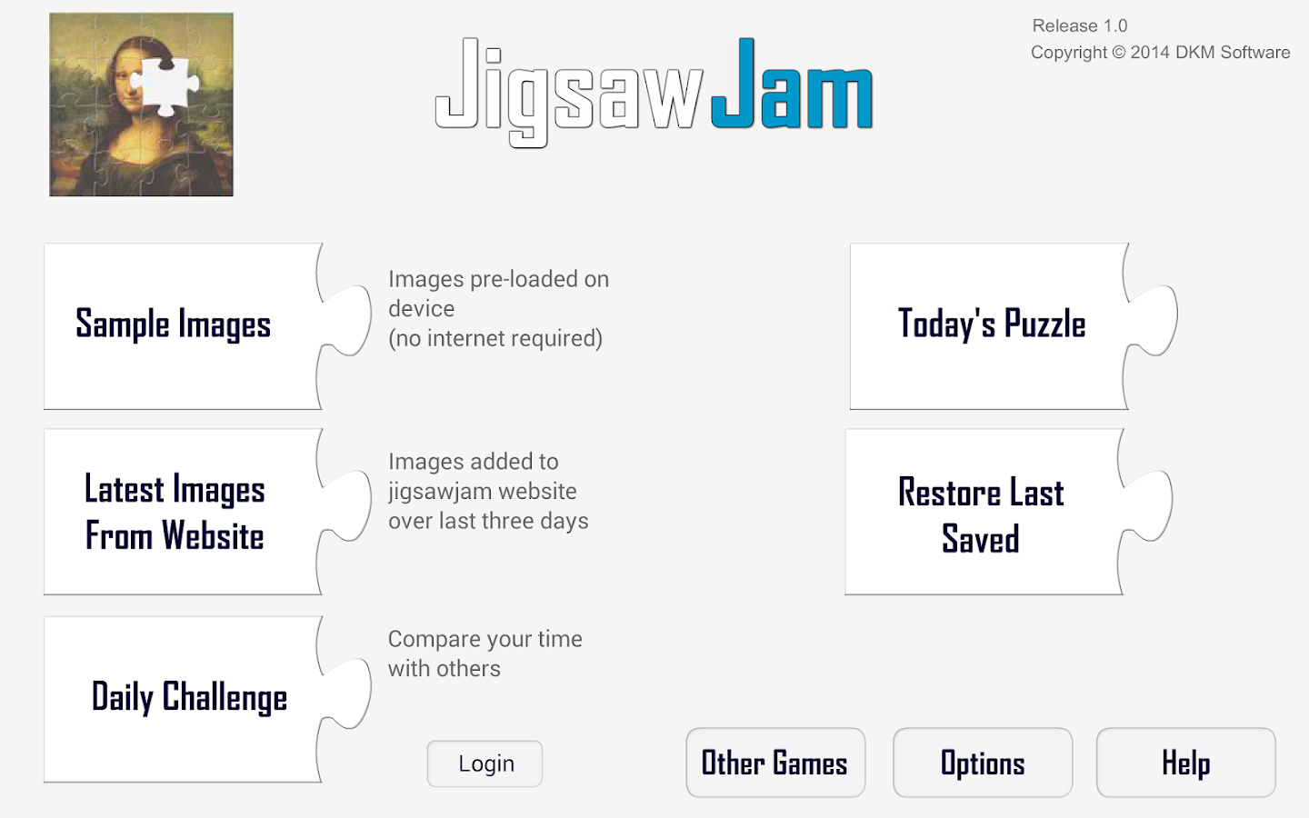 Jigsaw Jam- screenshot