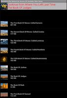 Screenshot of Audio Bible in English
