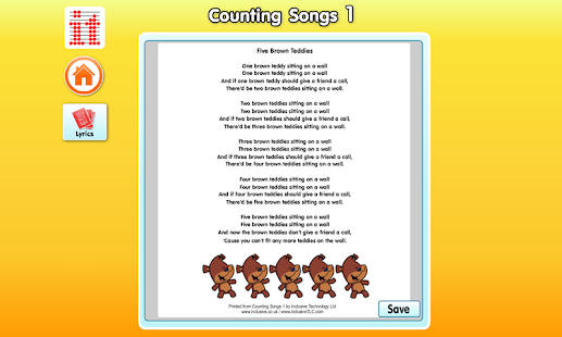 Counting Songs 1- screenshot thumbnail