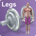 Daily Legs Video Workouts icon