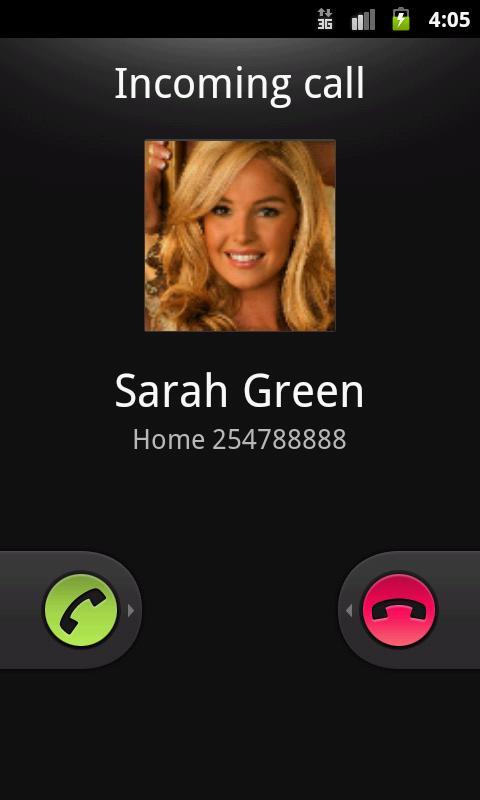 Mr Caller (Fake Call&SMS) - screenshot