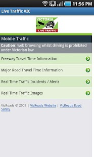 VIC Traffic View- screenshot thumbnail