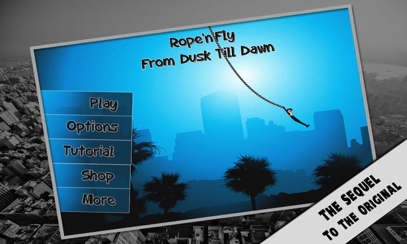Rope'n'Fly 3 - Dusk Till Dawn- screenshot