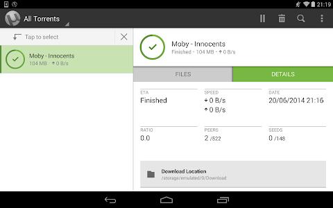 µTorrent® Pro - Torrent App v2.23
