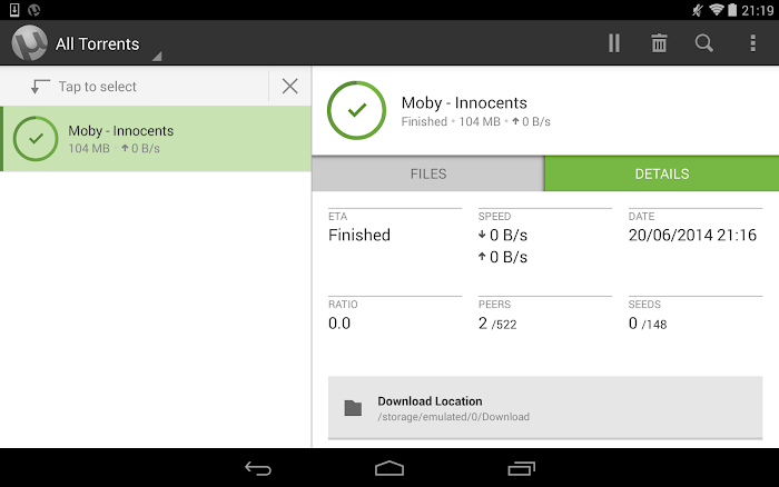 µTorrent® Pro - Torrent App- screenshot