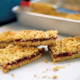Oatmeal Jammy Bars.