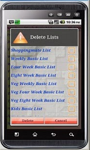 Shoppingmate Tradition Free- screenshot thumbnail