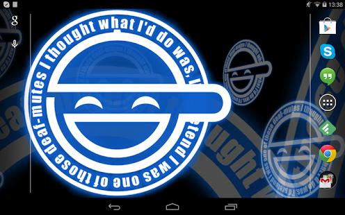 Laughing Man Live Wallpaper