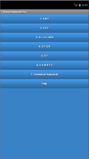 C Sharp Keywords Pro